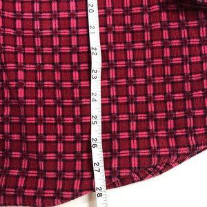 Disney Shirts - VTG Mickey Mouse Plaid Flannel Long Sleeve Shirt